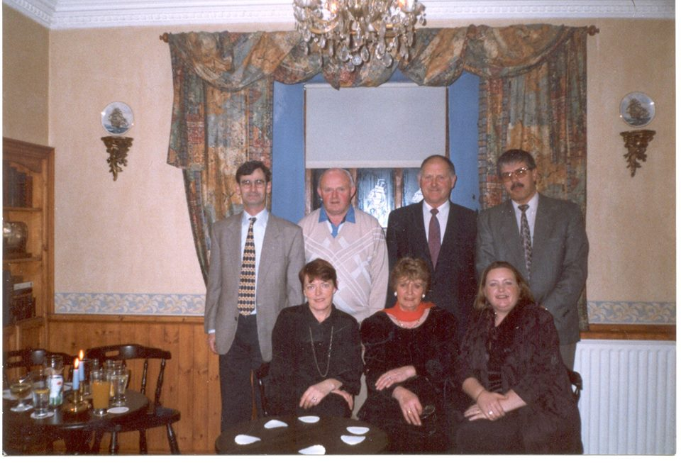 Claregalway Amenity Group Sean Harte (Secretary) Laurence King, Seamus O'Connell, Vincent Lyons, Josette Farrell, (Chairperson) Josie Concannon and Celia Lennon.