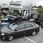 Miracle of Cregmore Cross as Crash Truck Misses 70 Pupils by Seconds
