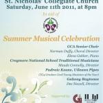 Galway Choral Association Summer Musical Celebration