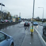 Flood On N17 Outside Centra Store in Claregalway