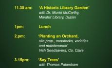 Autumn Garden Seminar at Claregalway Castle