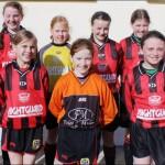 Claregalway/Lackagh Community Games Soccer U12 Girls—County Galway Winners