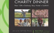 Self Help Africa Dinner on 15th of November