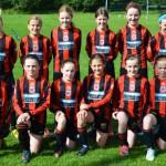 Claregalway/Lackagh Community Games U12 Girls—National Finals Winners