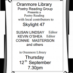Skylight Poetry in Oranmore Library