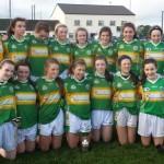 Claregalway U14 Ladies Win The Double!