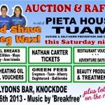 Charity Head Shave for Pieta House Tuam