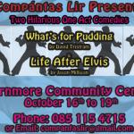 Two Hilarious Shows for Compántas Lir Autumn Theatre