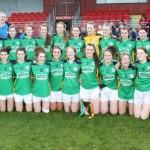 Claregalway Ladies Win the Connacht Minor Title
