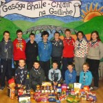 12th Galway Claregalway Scouts Christmas Food Collection