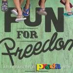 """PREDA's 5k """"Run for Freedom"""" 2014"""