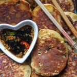 Móna's Sweet Potato Savoury Seafood Pancakes