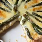 Móna's Tasty Asparagus Cheese Tart