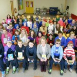 Author Kate McMahon Visits Claregalway National School