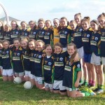 Claregalway Ladies Top Their Group in 2014 Féile