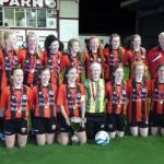 Cregmore-Claregalway FC Girls Win Cup Final