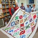 Support Corrandulla Library and Be in with a Chance to Win a Hand-Stitched King Size Patchwork Quilt
