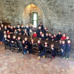 Bawnmore NS Visits Claregalway Castle