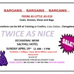 'Twice as Nice' Fundraiser for Knockdoemore Park