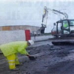 Truck Driver's Lucky Escape at Carnmore Community Centre