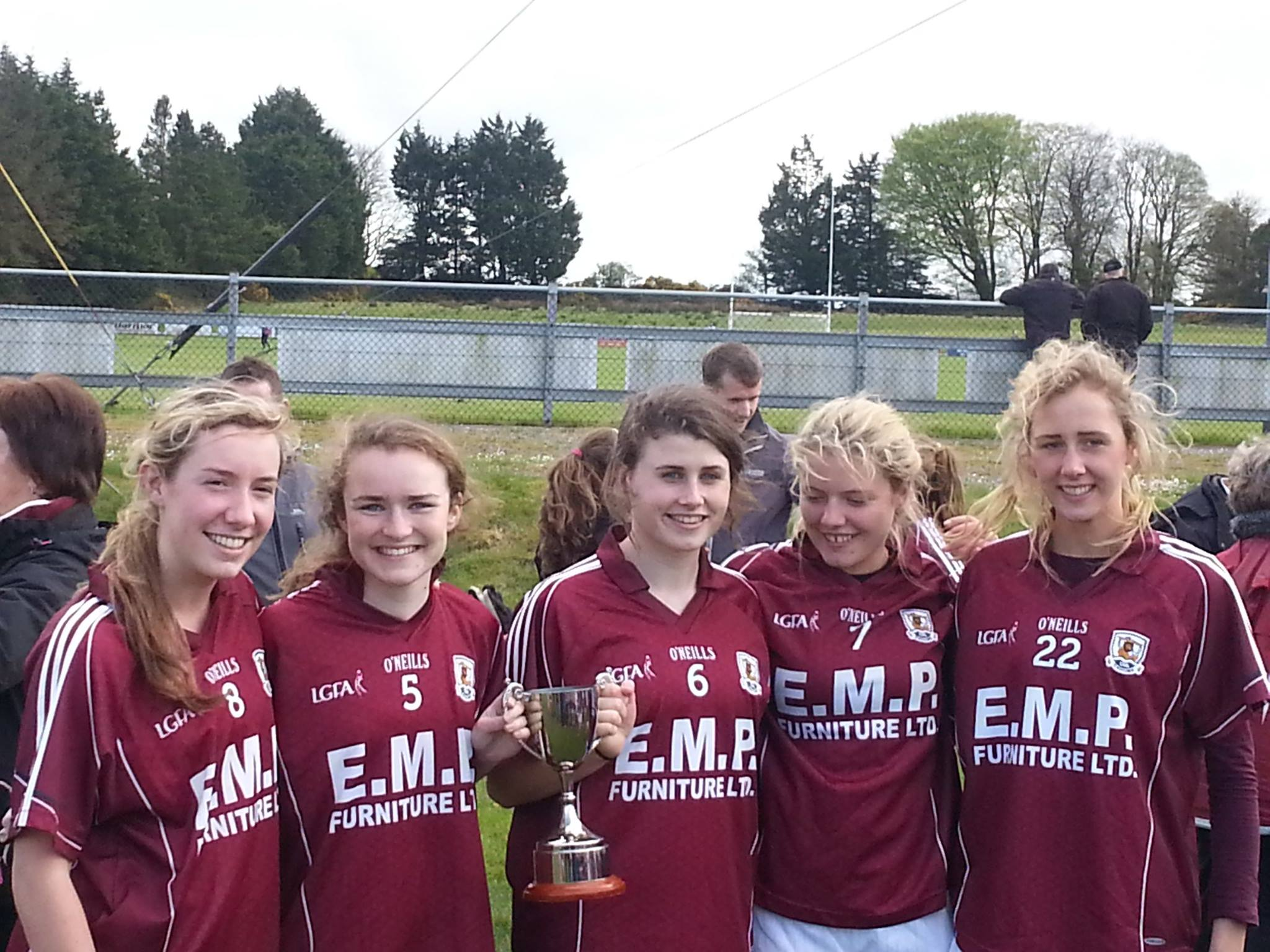 Claregalway were well represented on the Galway Minor ladies panel with the halfback line being all Claregalway—Orla Murphy, Karen Dowd and Elle Glynn—while Megan Glynn starred at midfield. Grace Cahill also saw action as a midfield sub in the second half.