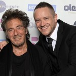 Al Pacino Is Greeted By Claregalway Actor Eugene Horan