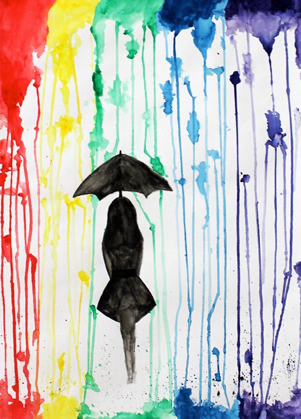 'Rain' by Orlaith Roe (2nd year)
