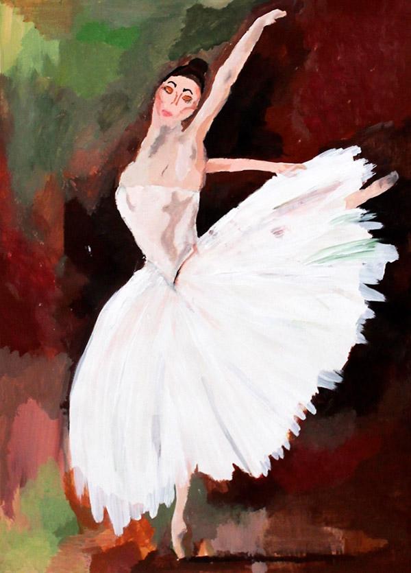 'Ballerina' by Saoirse McNamara (2nd year)