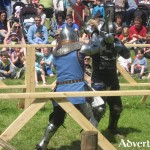 Knights Coming to Claregalway Castle