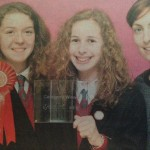 Claregalway Students Scoop Top Technology Young Science Award