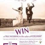 Win a €10,000 Wedding at the Claregalway Hotel