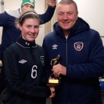 Claregalway Girl Capped at Irish International Soccer