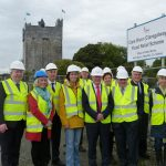 Minister of State Seán Canney TD Visits Claregalway Flood Relief Scheme