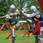 Knights to Remember—Full Contact Medieval Tournament in Claregalway Castle