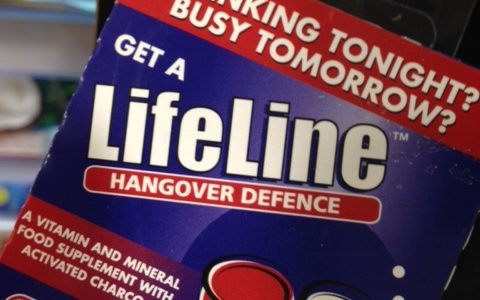 Get a life—Drinking tonight busy tomorrow.