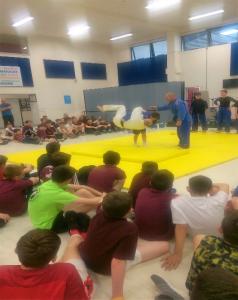 Judo at Colaiste Baile Chlair