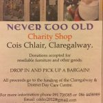 Charity shop for Claregalway day centre to host live Christmas crib