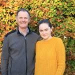 Tony Roe and his daughter Orlaith undertaking a Charity Trek to Nepal