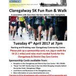 Claregalway 5K Fun Run and Walk