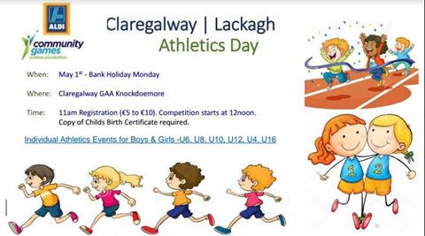 Claregalway/Lackagh Athletics Day