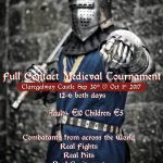Winter knights are drawing in! Medieval jousters return to Claregalway Castle for another step back in time.