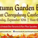 Autumn Garden Festival at Claregalway Castle.
