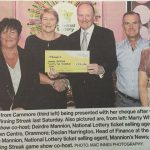 Lotto Winner Marian Potter,Carnmore.