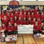 Cregmore National School supports St. Vincent de Paul.