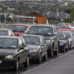 19,000 workers caught in a jam - Galway.