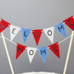 75K Welcome HomeBunting - by the reluctantemigrant Denise Hession