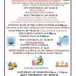Easter Ceremonies in Claregalway