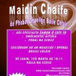 Preasráiteas: Maidin Chaife do Phobal Ghaeilge Baile Chláir