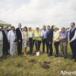 Farmer who donated land turns sod on Claregalway and District Day Care Centre