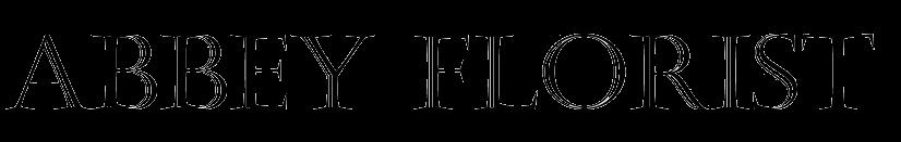 Abbey Florist Name Logo